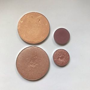 Colourpop Eyeshadow and Highlight Singles